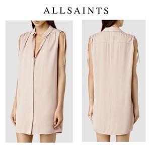 All Saints Drain Shirt Dress